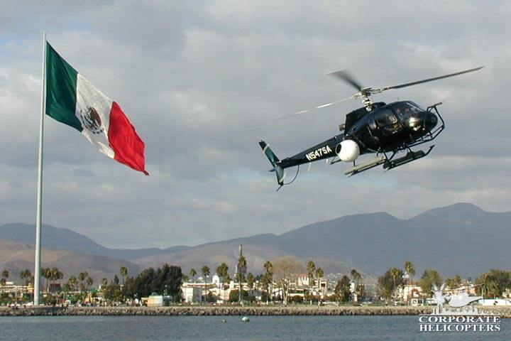 Aerial filming in Mexico