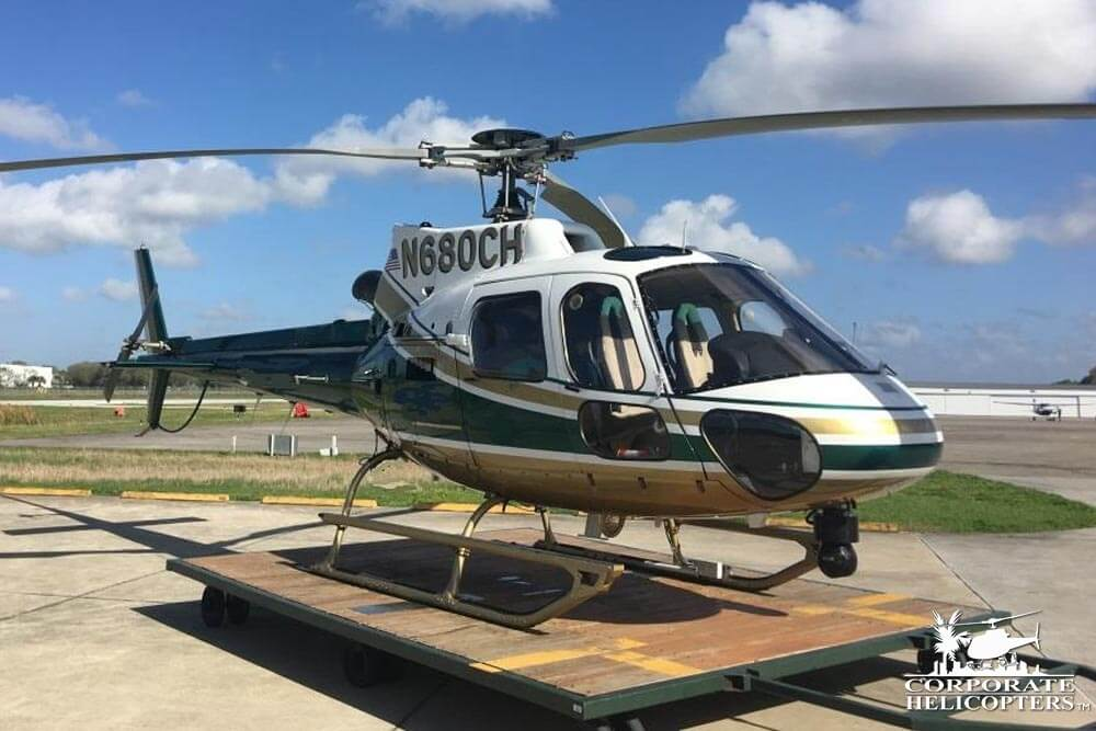 2002 Eurocopter AS350 B2 for sale at Corporate Helicopters of San Diego.