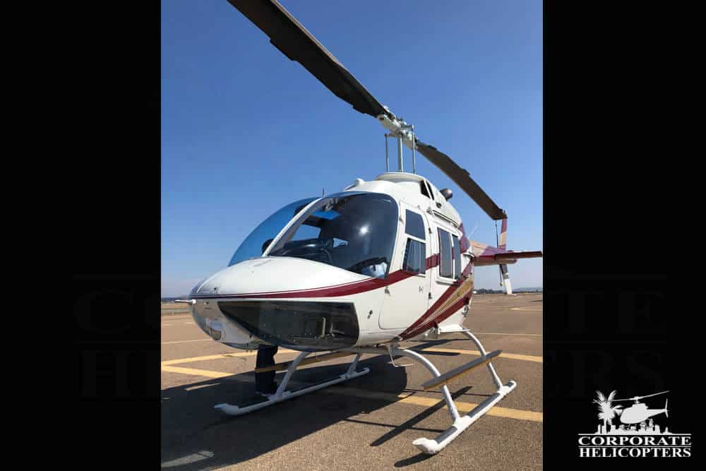 1973 Bell 206B II helicopter for sale at Corporate Helicopters of San Diego