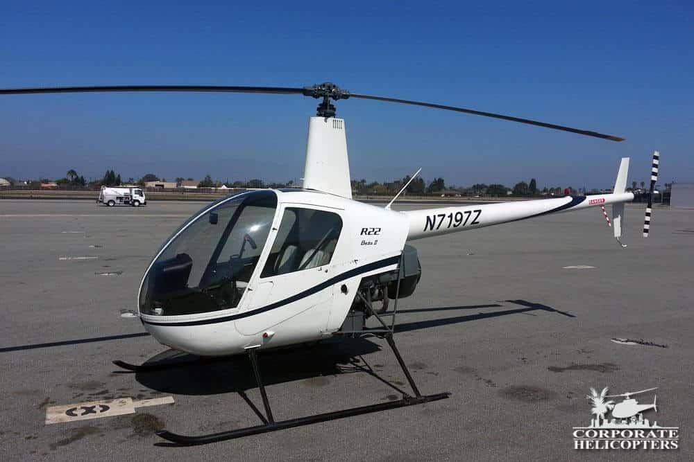2001 Robinson R-22 Beta II for sale at Corporate Helicopters