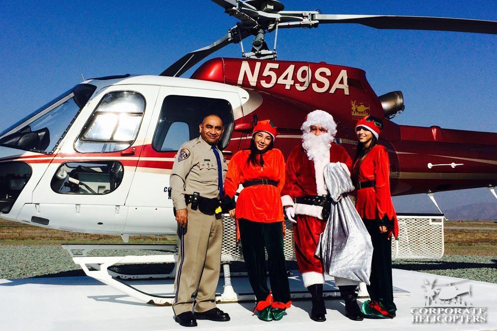 Flying Santa and CHP