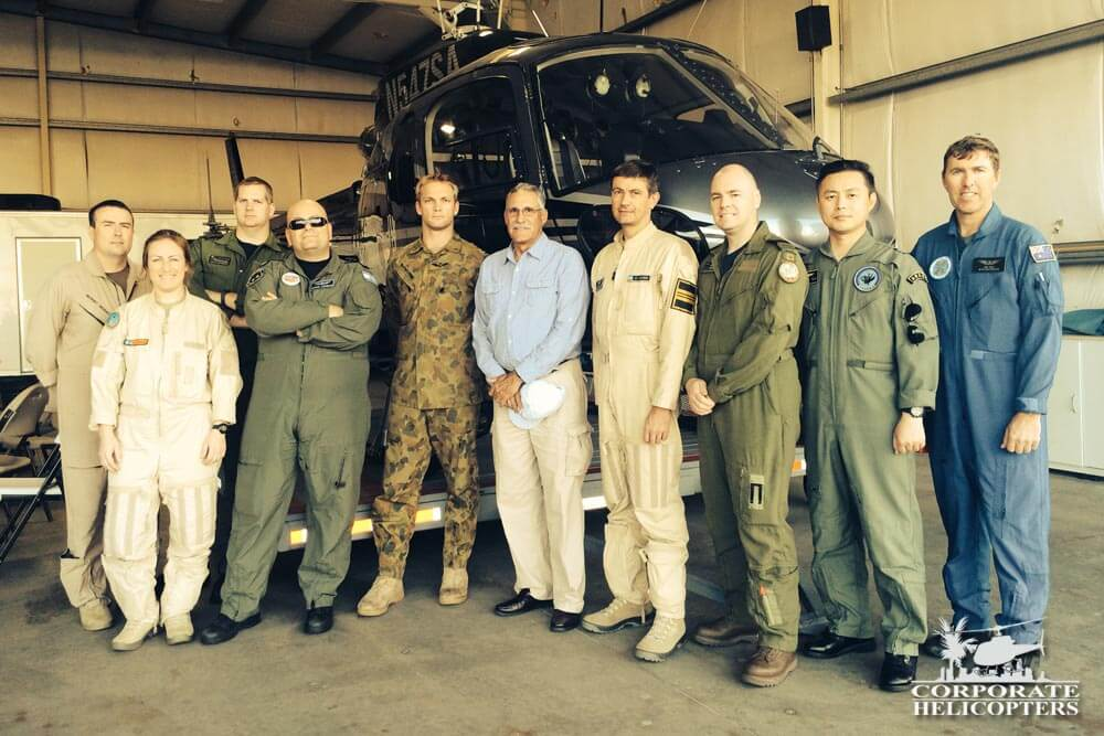 National Test Pilots at Corporate Helicopters in October 2014.
