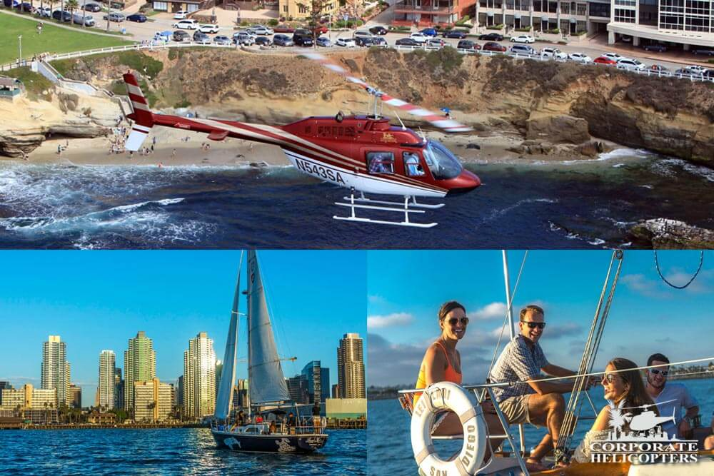 Soar and Sail Helicopter Tour