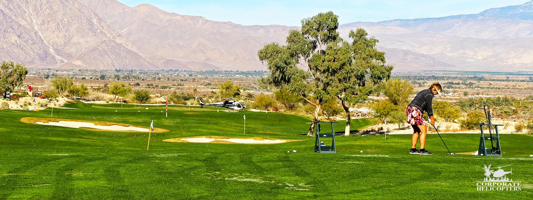 A helicopter golf adventure from San Diego to Rams Hill in Borrego Springs (and back).
