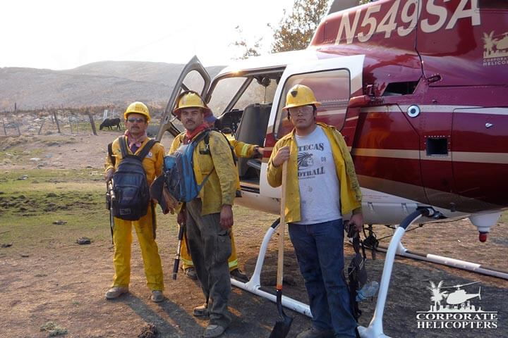 Helicopter Crew Transport