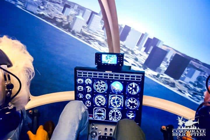Helicopter Flight Simulator - Corporate Helicopters of San Diego