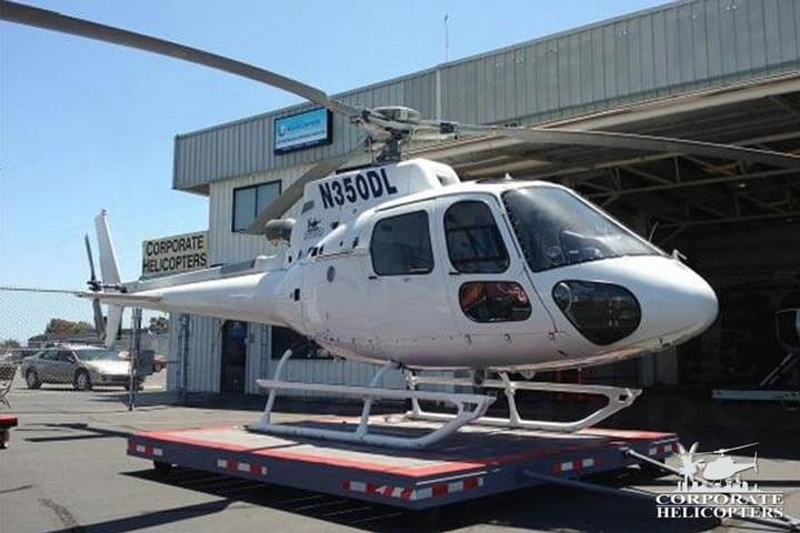 2008 Eurocopter AS350 B3 for sale at Corporate Helicopters of San Diego