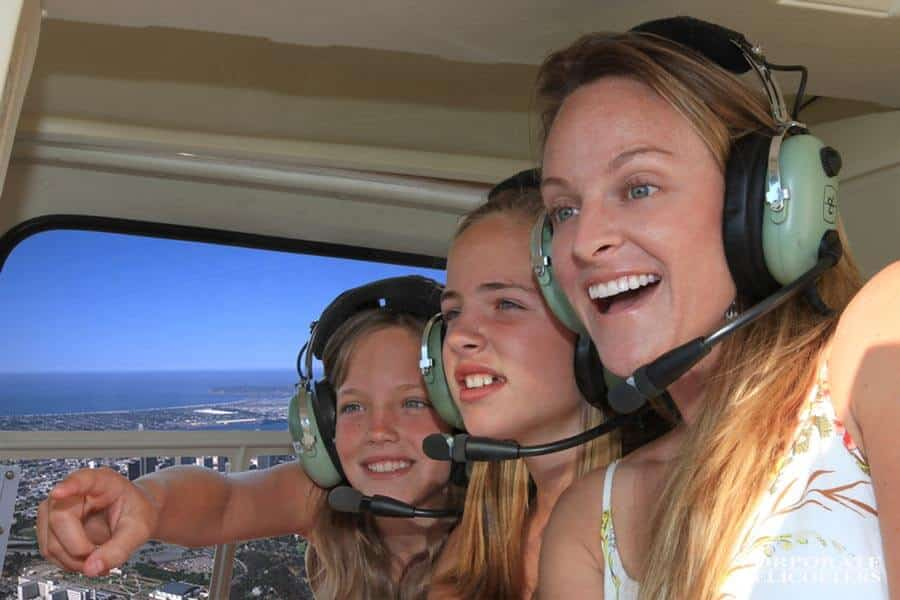 Mother's Day helicopter tour