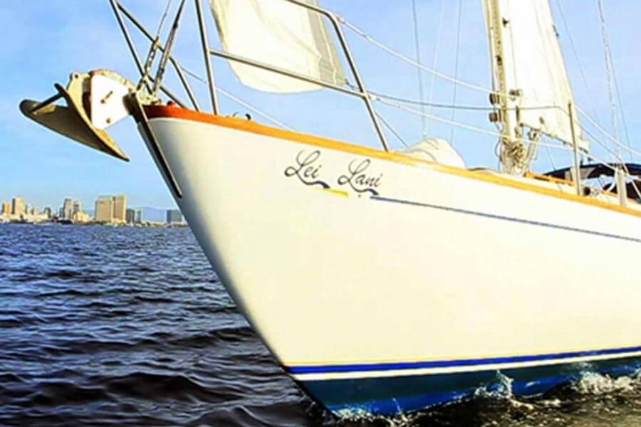 Sailing tour of San Diego