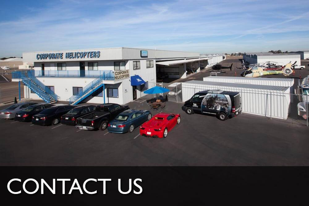Contact Corporate Helicopters San Diego