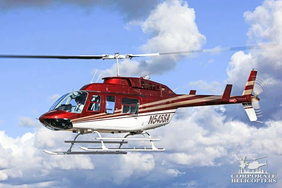 Corporate Helicopters of San Diego has multiple Bell LongRanger 206LIII's in the helicopter fleet