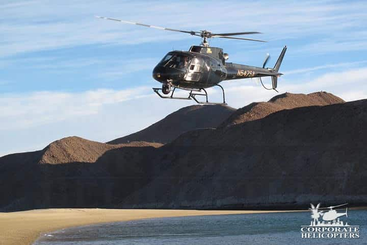 Inspect real estate in Mexico by helicopter