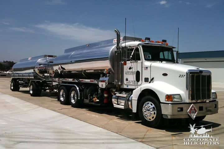 Fuel trucks for operations in remote areas of Mexico