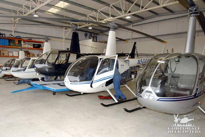 Robinson helicopter maintenance