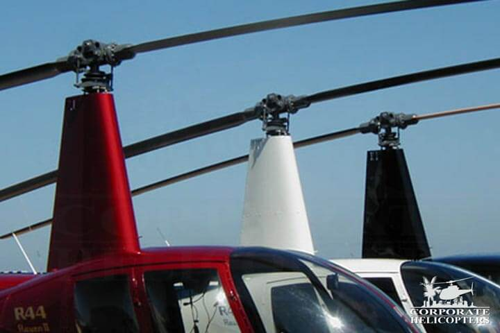 Corporate Helicopters of San Diego provides Robinson service and repair