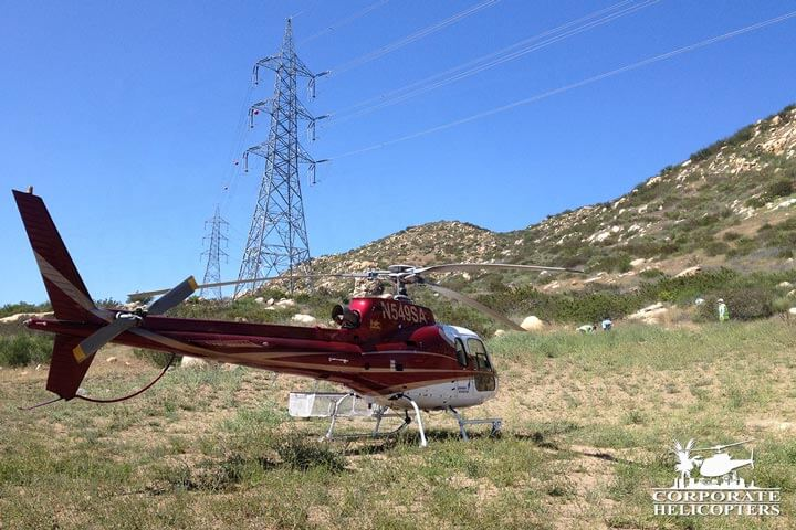 Helicopter utility and powerline projects