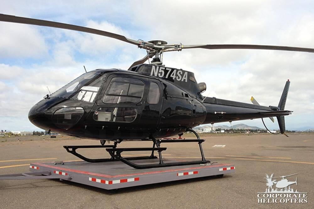 1993 Eurocopter AS350 B2 for sale at Corporate Helicopters of San Diego