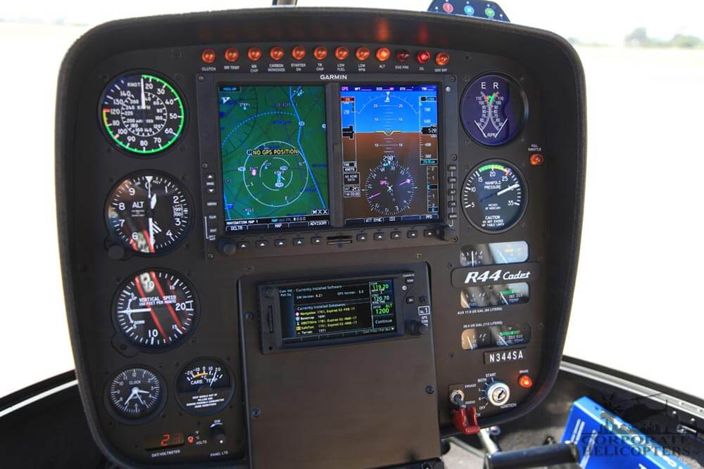 Garmin G500H training at Corporate Helicopters of San Diego