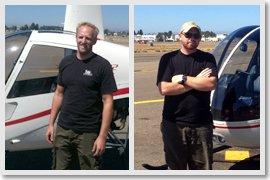 Flight training graduates