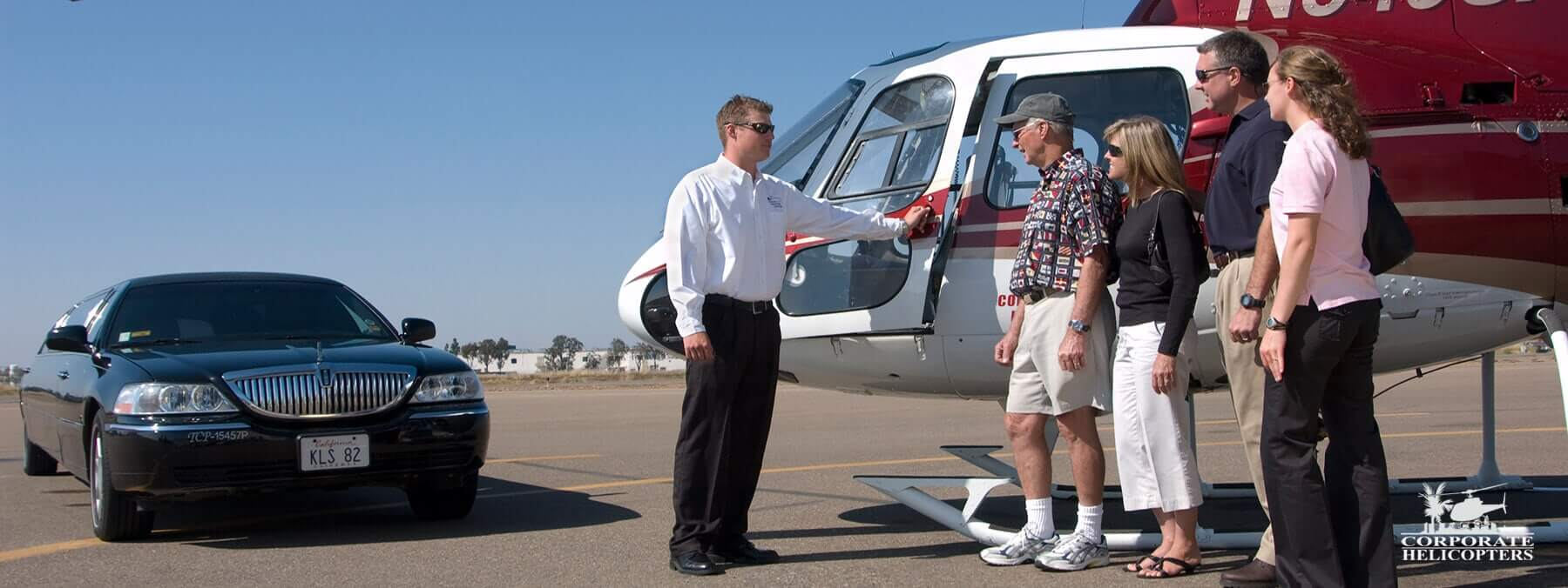 Helicopter charters in San Diego